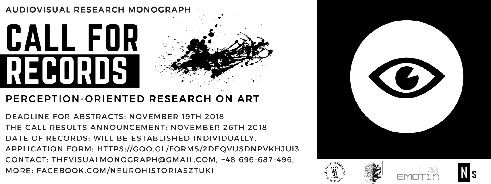 "Call for ""records"" Perception-oriented research on art"